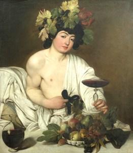 caravaggio bacchus