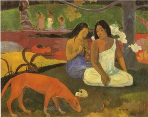 arearea - gauguin