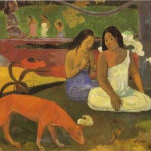 arearea - gauguin