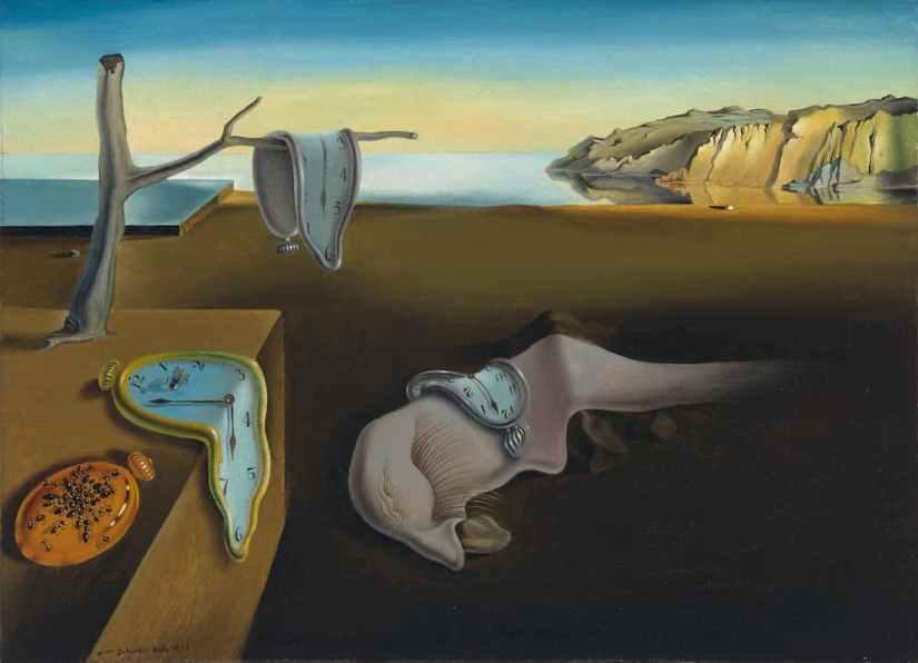 La persistenza della memoria di Salvador Dalì: analisi