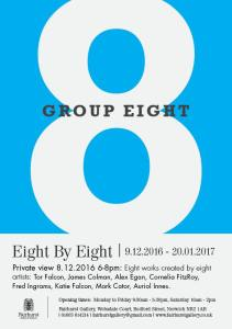 Eight by Eight, Group 8 at Fairhurst Gallery, Norwich