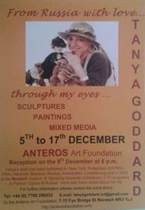 Tanya Goddard Solo Exhibition