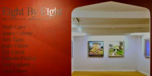 Eight by Eight Group Art Show, Fairhurst Gallery, Norwich. Photo by Katy Jon Went