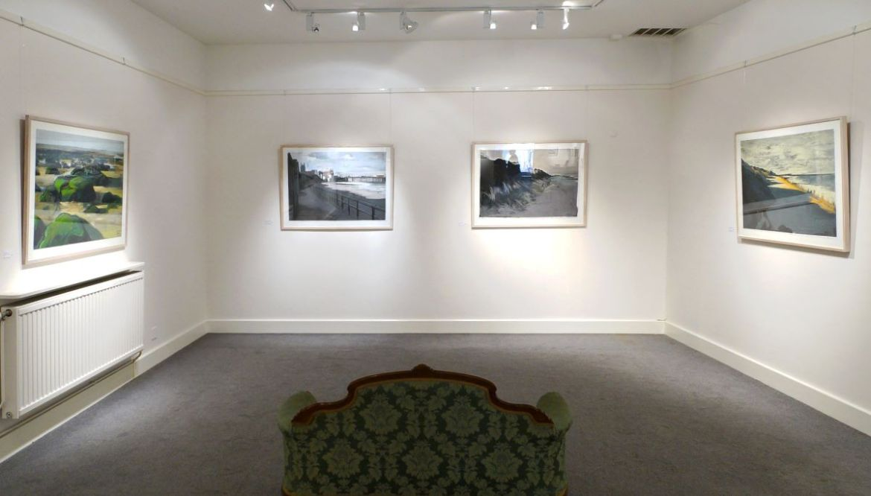Artist Malca Schotten, Mandell's Gallery