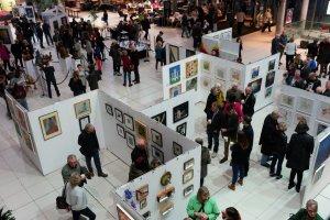 Spring Art Show 2017, The Forum, Norwich, Norfolk