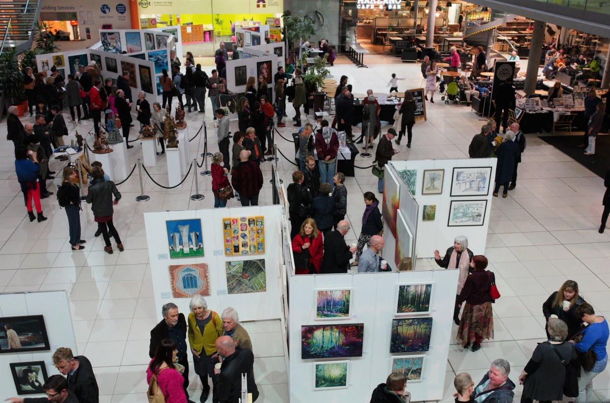 Spring Art Show, Private View