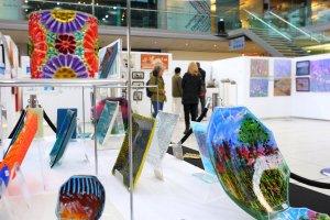Glass, Spring Art Show, The Forum, Norwich, Norfolk