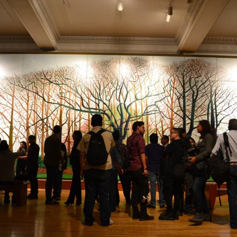 David Hockney en el MUNAL