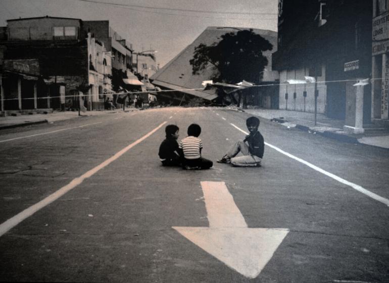 Nuestro terremoto. Museo Archivo de la fotografía