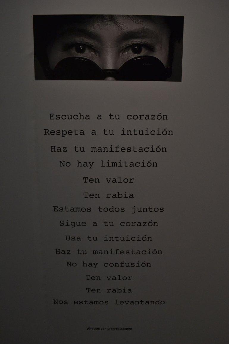 Yoko Ono en México