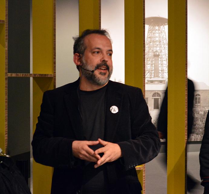 Miguel Delgado, Nikola Tesla en el Cenart
