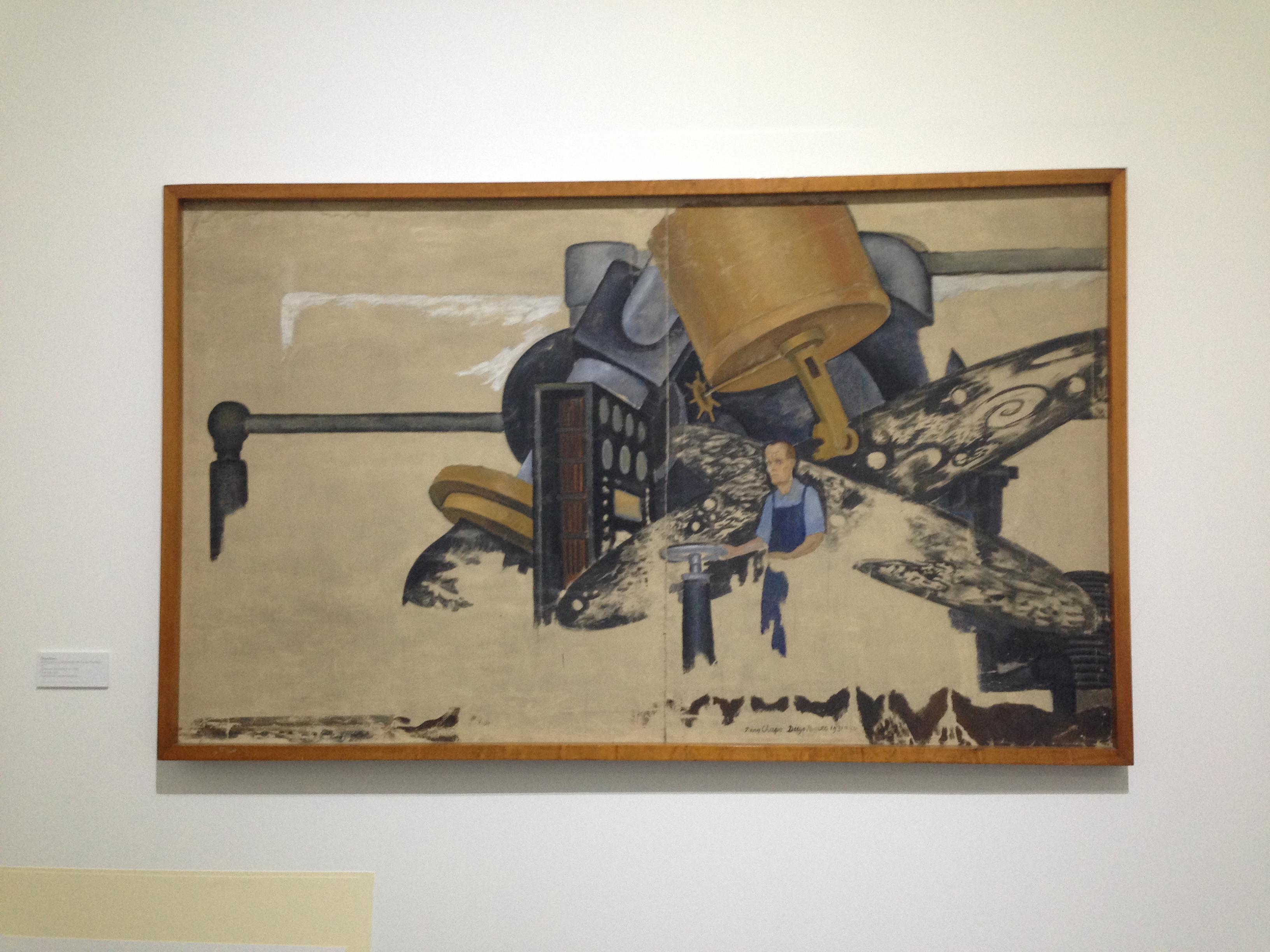 El Museo Mural Recupera La Historia De Diego Rivera Y Su Obra En
