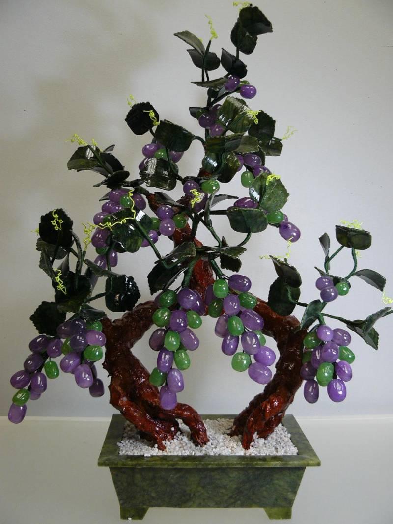 Jade Grapes Bonsai Tree 20A 4