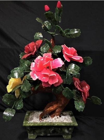 Jade Flower Bonsai Tree 20A2