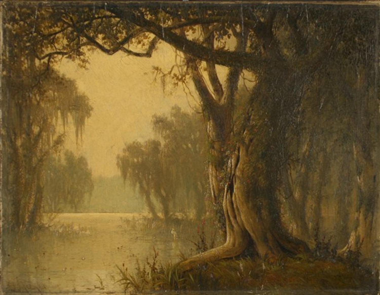 Meeker Bayou Landscape Brings 27 000 At Antique Helper