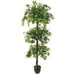 Ficus artificial etajat 180cm