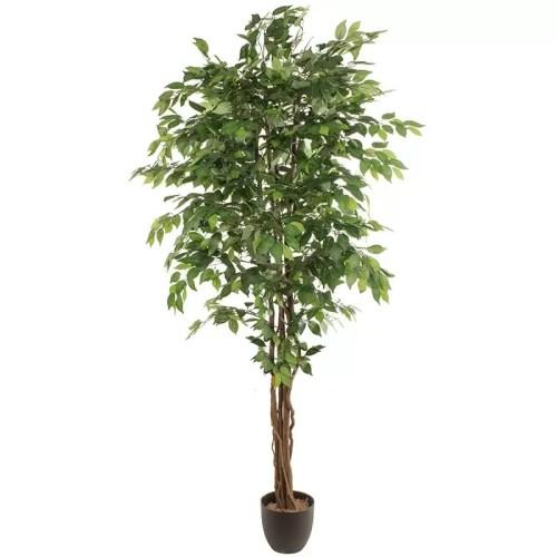 Ficus artificial trunchi natural verde 220cm