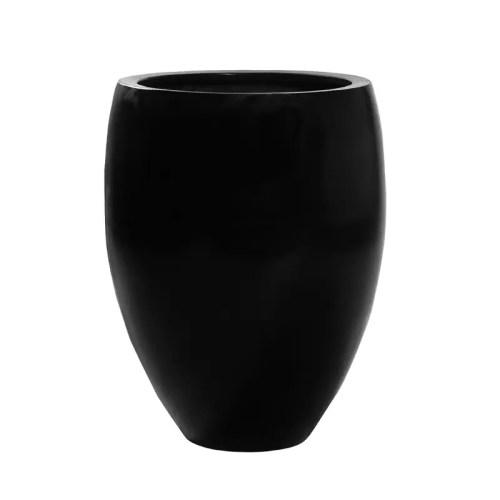 Ghiveci Fibra sticla negru