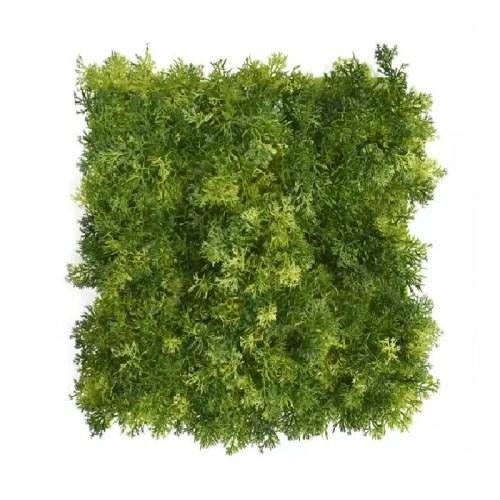 Gradina verticala licheni artificiali verde inchis 01