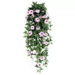 Planta curgatoare cu flori roz deschis 110cm artificial Artflora
