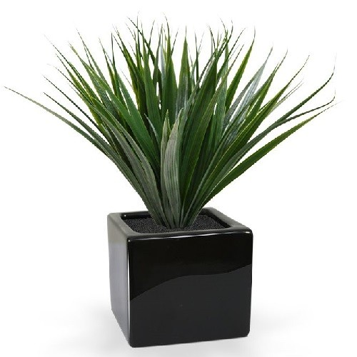 iarba bambus artificiala H25 2