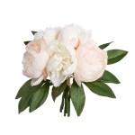 Buchet Bujori roz deschis 32cm