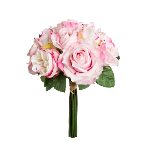 Buchet trandafiri x 11 roz 36cm