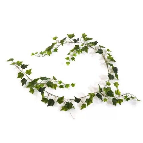 Ghirlanda Iedera Hedera verde 180cm