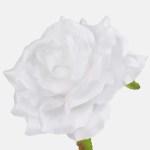 Trandafir artificial alb 11cm 634