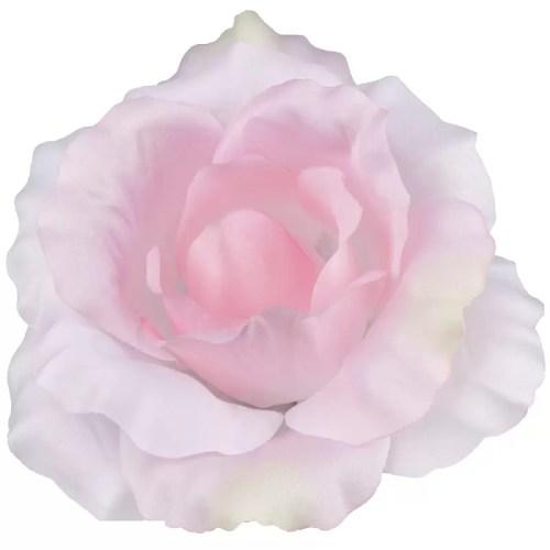 Trandafir artificial roz pastel 13cm 245
