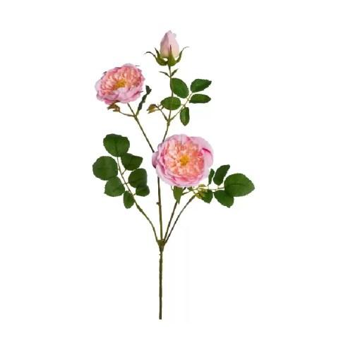 Trandafir creanga roz 73cm