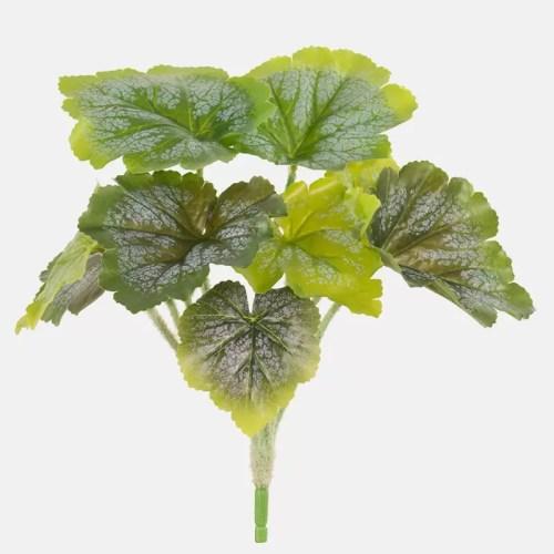 Begonia artificiala verde h24cm