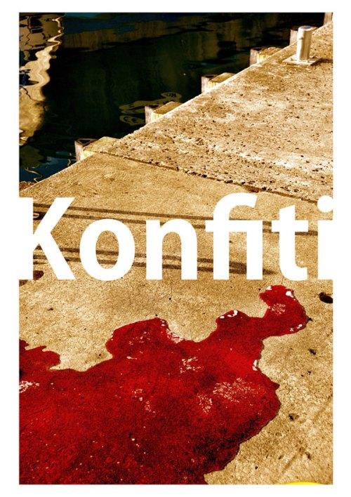 "KONFITI = CONFITURE (À l'origine le sang d'un Marlin fraîchement pêché) © 2016. Mehdi Basses. ""CAZPI"" - Martinique"