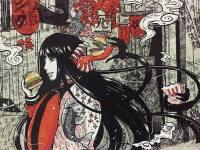 Futakuchi Onna Sosok Wanita Dengan Mulut Di Belakang Kepala
