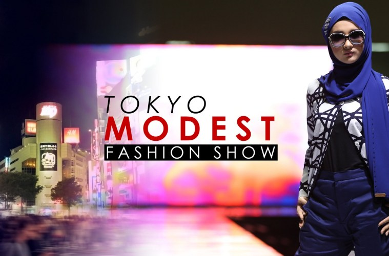 Saksikan Meriahnya Kawaii Hijabi Collection Dalam Tokyo Modest Fashion Show 2017