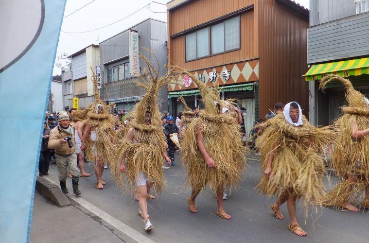 Festival Lucu Yonekawa Mizukaburi Di Prefektur Miyagi