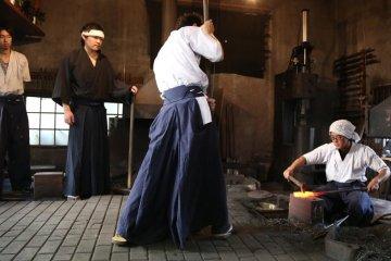 Proses Pembuatan Pada Pedang Katana
