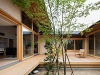 Desain Rumah Berbentuk U Dari Aristek Takashi Okuno