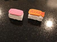 Membuat Mainan Sushi Dari Kertas Busa