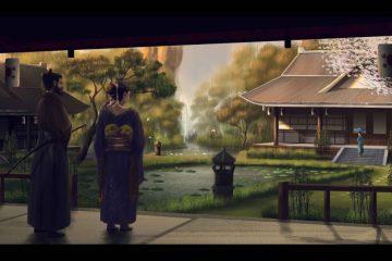 Kehidupan Kuno Jepang Yang Berhasil Dilukis Indah Oleh Zhalel Salam Seniman Asal Indonesia