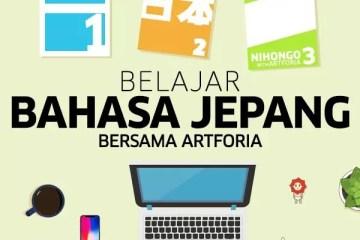 Belajar bahasa Jepang 2 Artforia