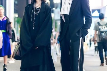Gaya Minimalis Monokromatik Dalam Fashion Jepang Oleh Mika Dan Tsukasa