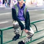 Mao Tampilkan Gaya Hip Hop Street Style Harajuku Fashion Jepang