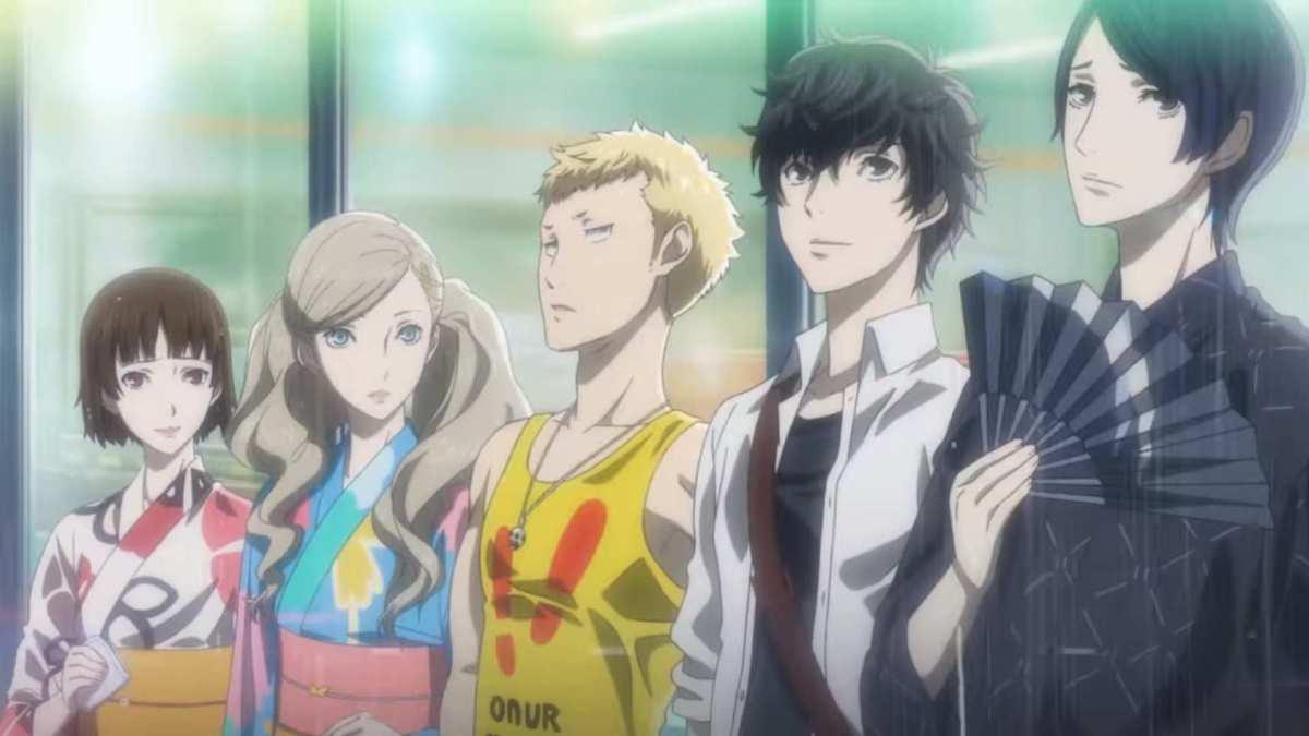 Serial Animasi Persona 5 Tampilkan Video Trailer Untuk Episode Pertama