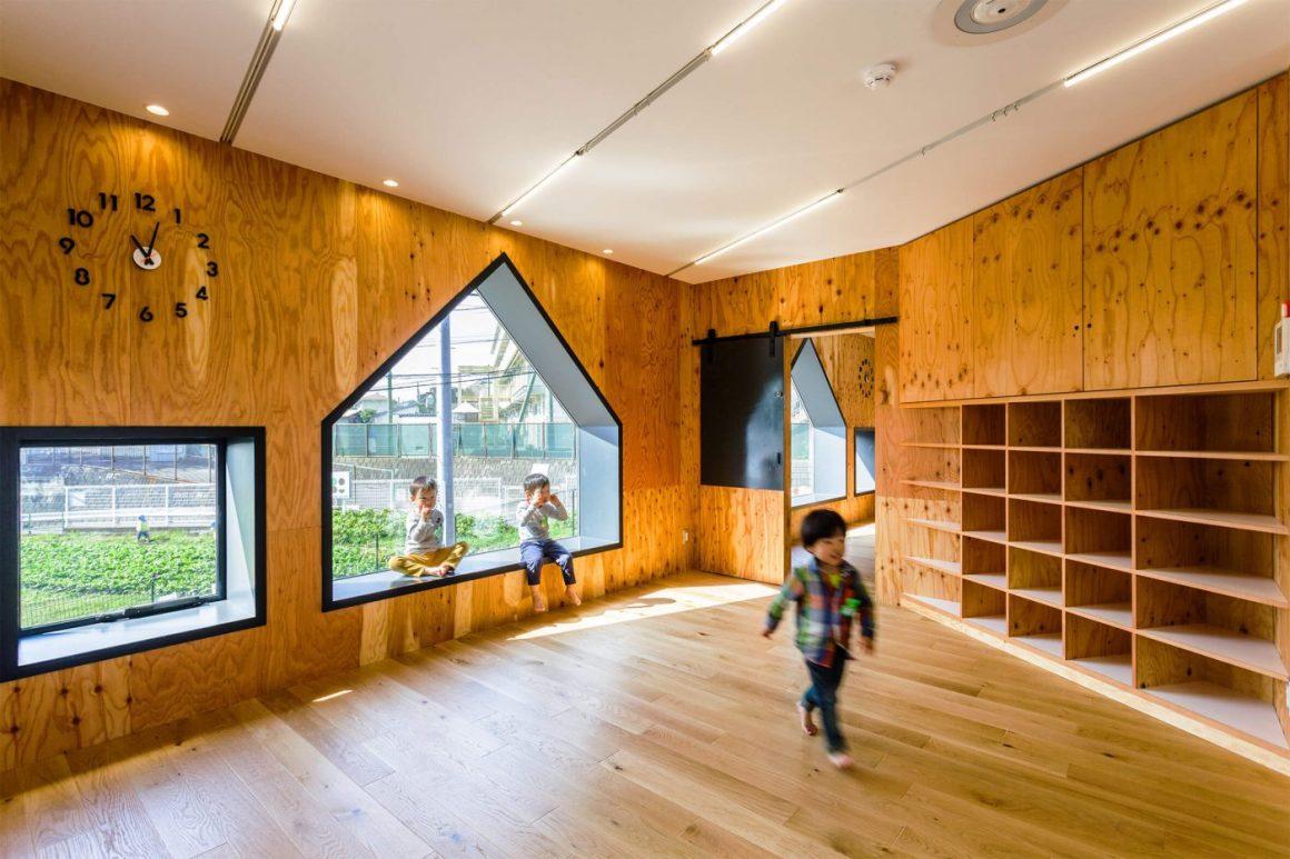 Desain Unik Gedung Penitipan Anak Dari Hibinosekkei