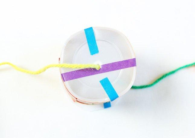 Membuat Kendama Dengan Cup Plastik Dan Batang Bambu