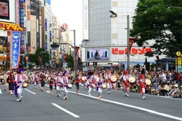 Festival Musim Panas Yang Merihan Dalam Shinjuku Eisa