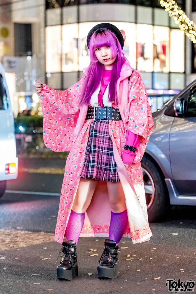 Gaya Super Pink Dan Hitam Harajuku Fashion Jepang Dari Ranochan