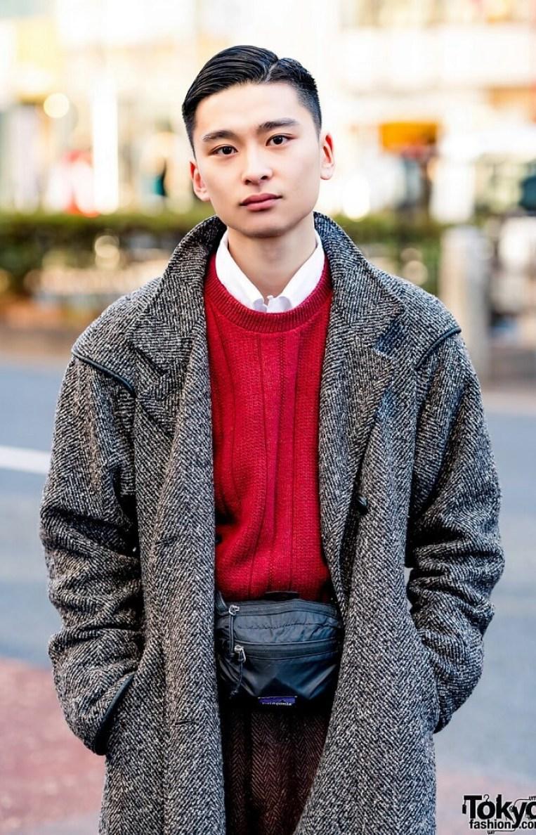 Gaya Retro Elegan Dalam Harajuku Fashion Jepang
