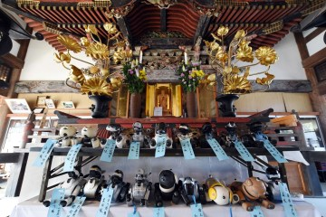 Pemakaman Tradisional Untuk Robot Anjing Aibo
